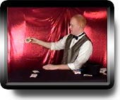 Click to watch the appearing cards magic trick movie!